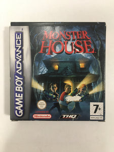 monster house  Nintendo Game boy advance avec notice
