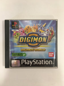 Digimon world Sony Ps1 sans notice