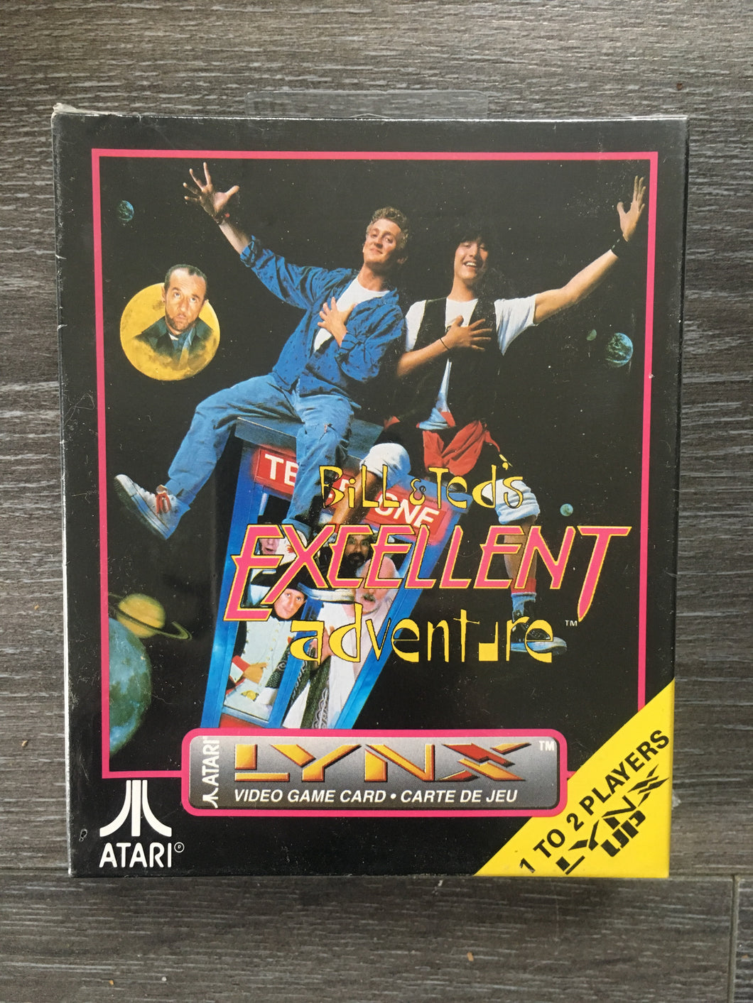 Bill and Ted's Excellent Adventure atari lynx Neuf Sous Blister