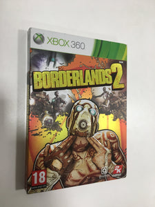 Borderlands 2 Xbox 360 PAL avec notice et couverture cartonnée