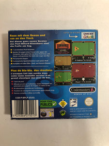 Pro pool EUU + notice Nintendo Game boy color