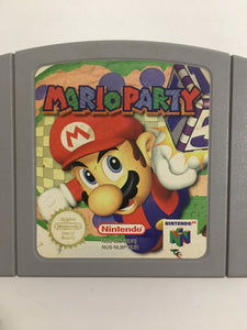 Mario party  Nintendo 64  avec notice