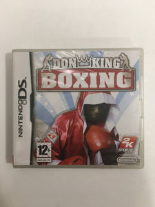 Don King Boxing Nintendo ds neuf sous blister