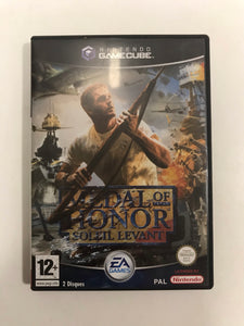 medal of honor soleil levant PAL Nintendo game cube complet