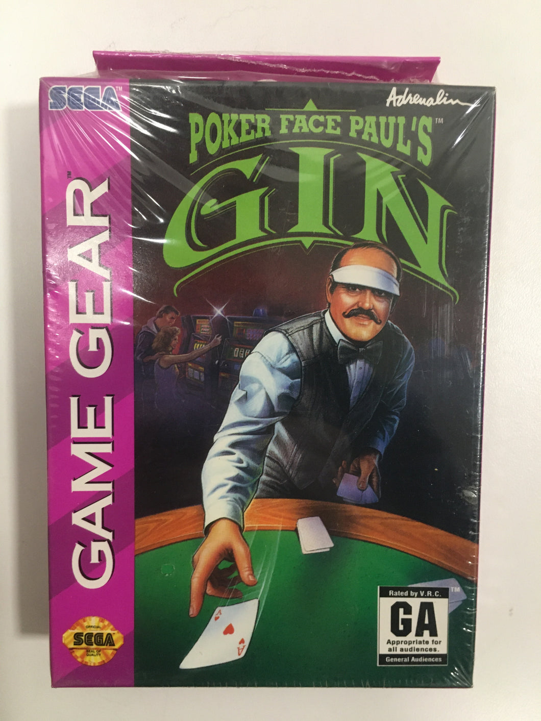 Poker face paul's gin sega Game gear neuf sous blister