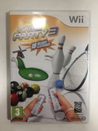 game party 3 nintendo wii avec notice