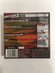driver 2 game boy advance FAH complet