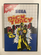Dick tracy sega master system sans notice