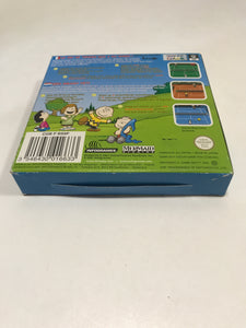 Snoopy tennis FAH Nintendo game boy color avec notice