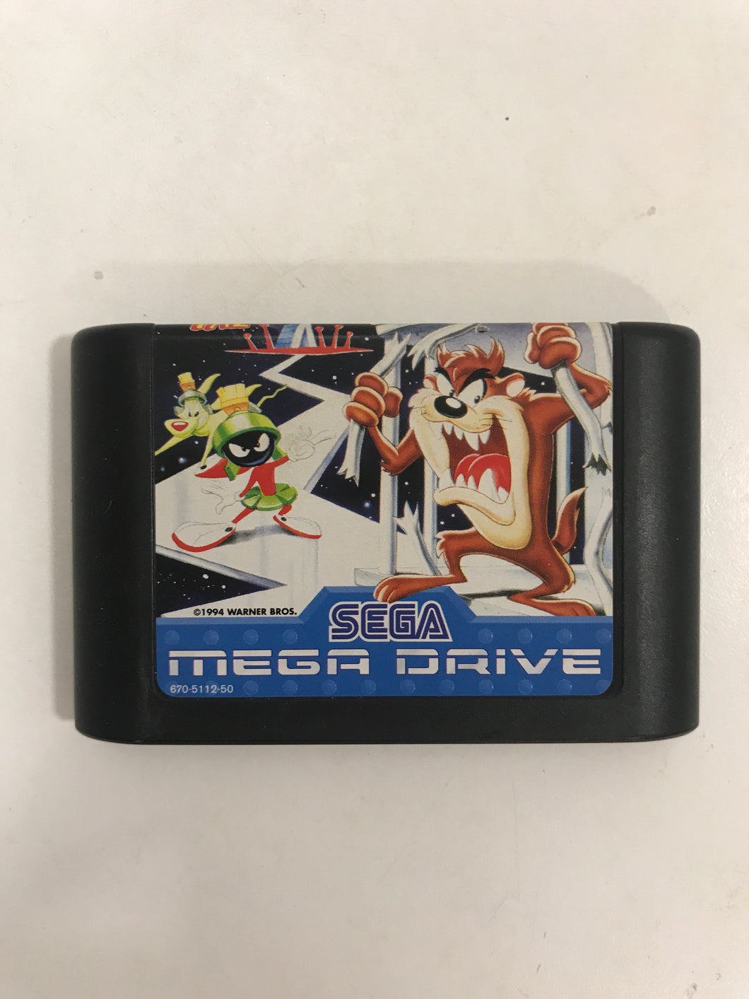 Taz in escape from mars sega megadrive