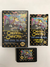 Charger l'image dans la galerie, Chester cheetah too cool to fool sega megadrive avec notice