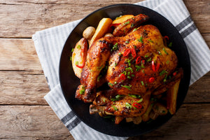 Whole Chicken - weight range: 3.5-4lbs - MID MAY DELIVERY