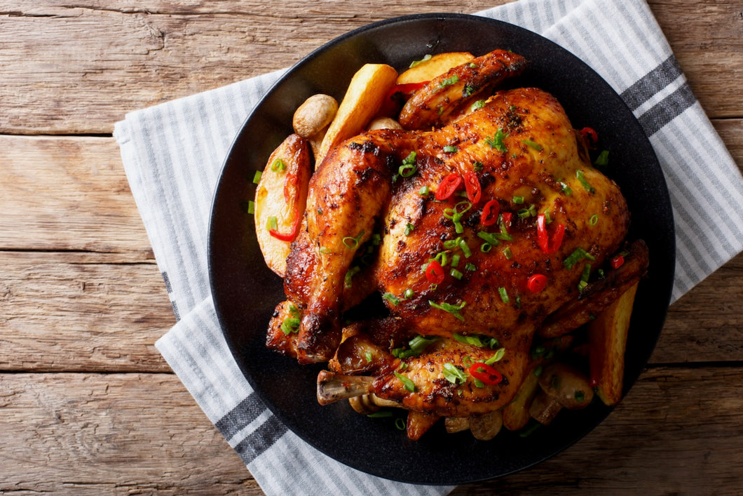 Whole Chicken - weight range: 4lbs to 4.9lbs
