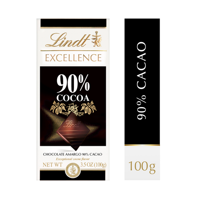 Chocolate Lindt 90% Cacao