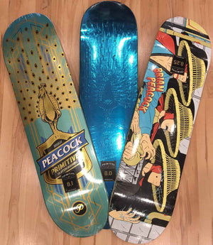 Brian Peacock's Boards are here!