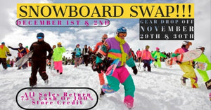Kinetic's Annual Snowboard Swap