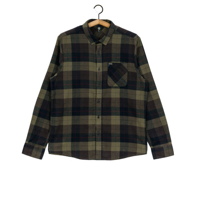Volcom Caden Long Sleeve (Army Green)