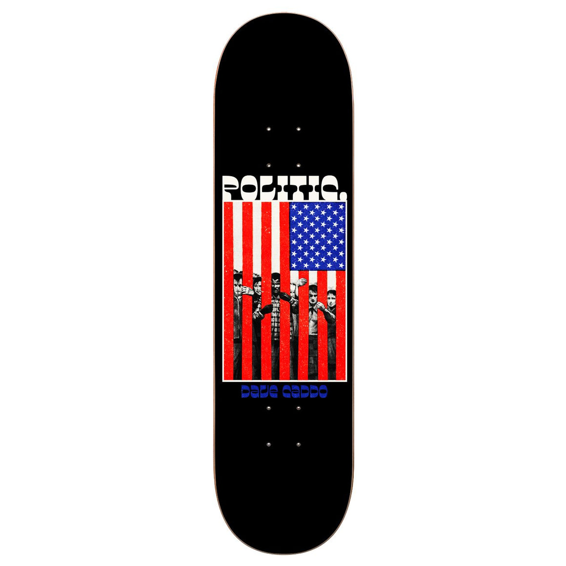 Politic Caddo Behind Bars Deck (8.5)