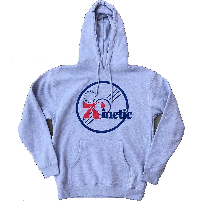 Kinetic 87 Hooded Sweatshirt (Grey)