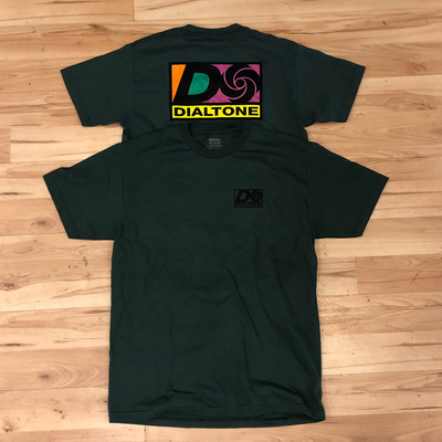 Dial Tone Atlantic Tee (Forest)