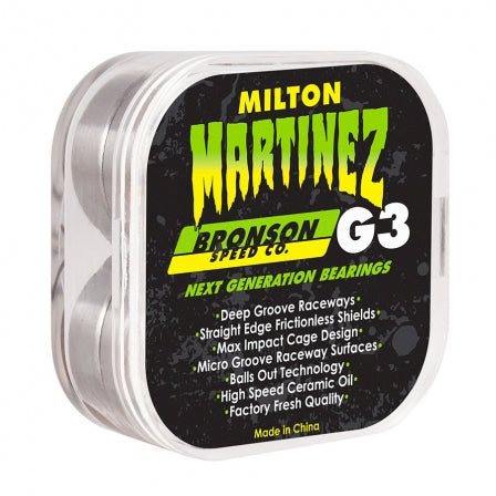 Bronson Milton Martinez G3 Bearings