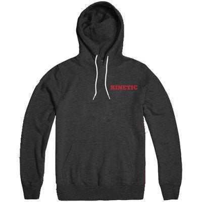 Kinetic K Pullover Hoodie (Charcoal Heather)
