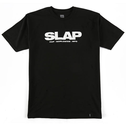 Huf x Slap Tee (Black)