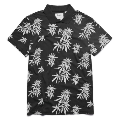 Altamont Huwee Polo (Black/White)