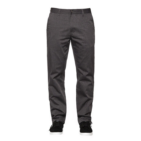 Huf Fulton Chino Pant (Charcoal Heather)