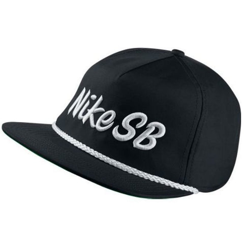 Nike SB Unstructured Dri-Fit Hat (Black/White)