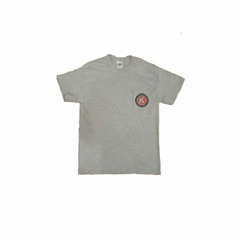 Kinetic K Pocket Tee (Sport Grey)