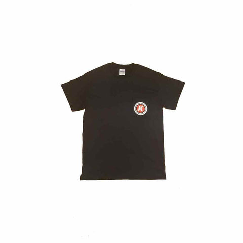 Kinetic K Pocket Tee (Black)
