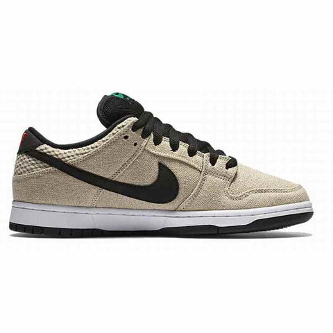 Nike SB Dunk Low Premium Quickstrike HEMP 4/20 (Bamboo/Black)