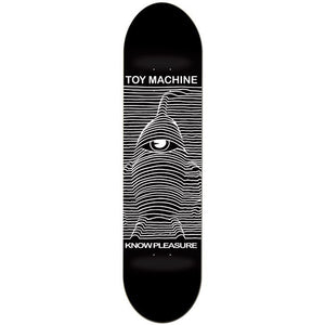 Toy Machine Toy Division Deck Black (8.5)