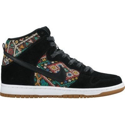 Nike SB Dunk High Premium Black/Rio Teal