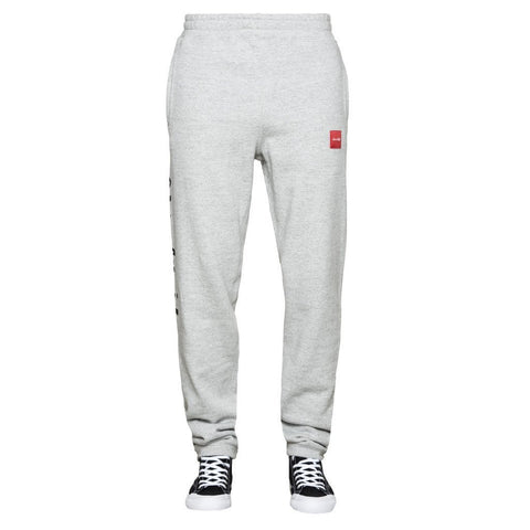 HUF CHUNK WORLDWIDE FLEECE PANT (Grey Heather)