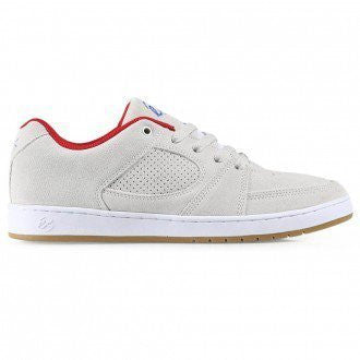 eS Accel Slim (White/Red)