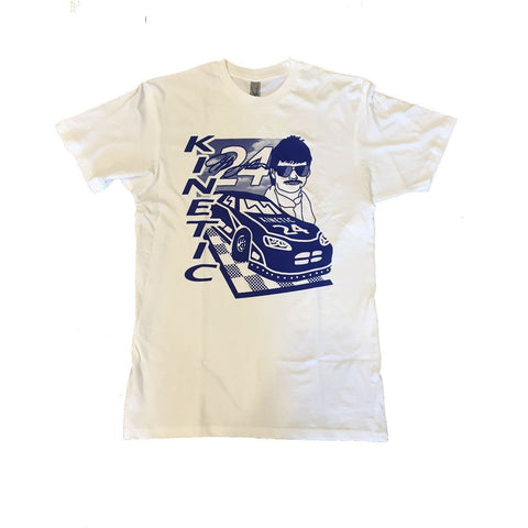 Kinetic Stock Car Women's T-Shirt (White)