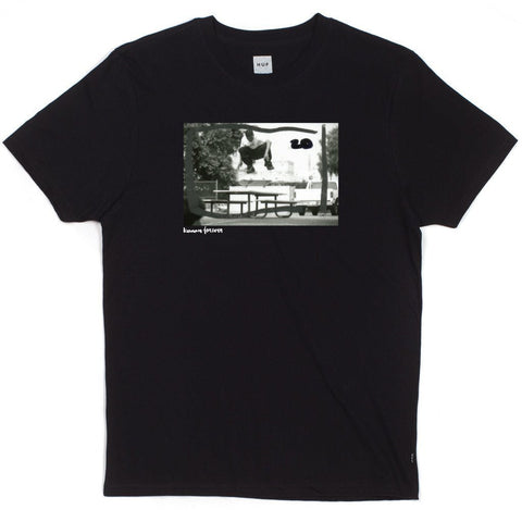 Huf x Chocolate Keenan Switch Flip T-Shirt (Black)