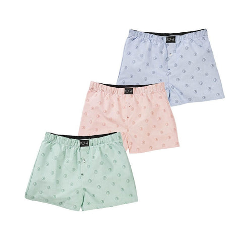 Polar Boxer Shorts (Blue/Peach/Mint)