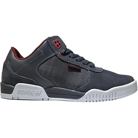 Supra Ellington (Charcoal/Burgundy)