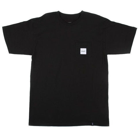 Huf Box Logo Tee (Black)