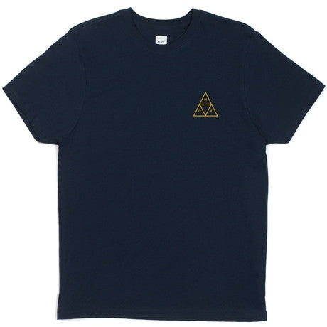 Huf Triple Triangle Tee (Navy)