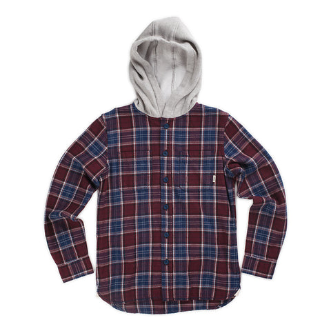 Vans Boys Lopes Hoodie (Port Royale/Dress Blues)