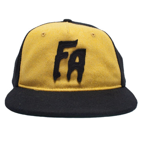 Fucking Awesome Classic FA Hat (Black/Yellow)