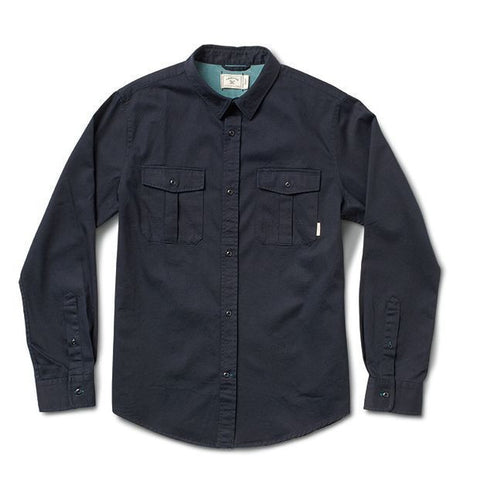 Fourstar Twill L/S (WashedNavy)