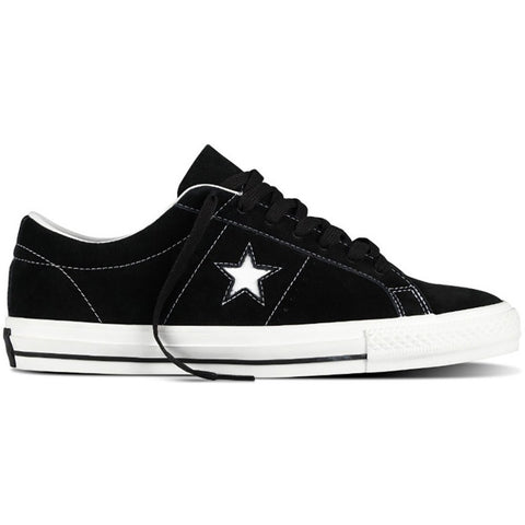 Cons One Star Pro Suede Black/White