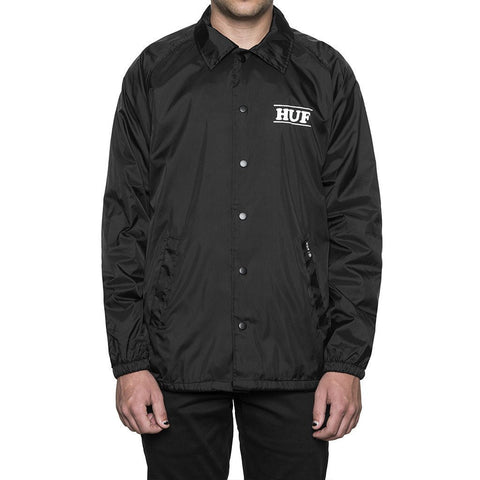 Huf X Pigpen Coaches Jacket (Black)