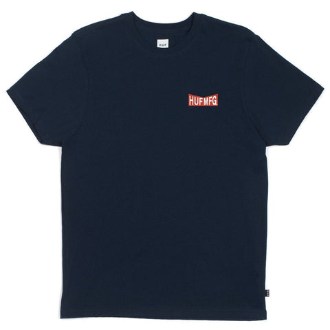 Huf Headway T-Shirt (Navy)