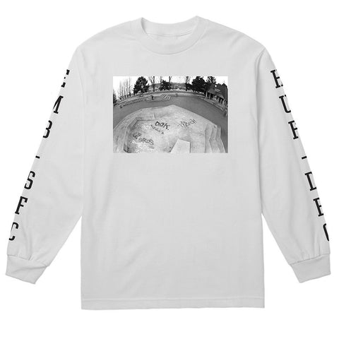 Huf X EMB C-Block T-Shirt (White)